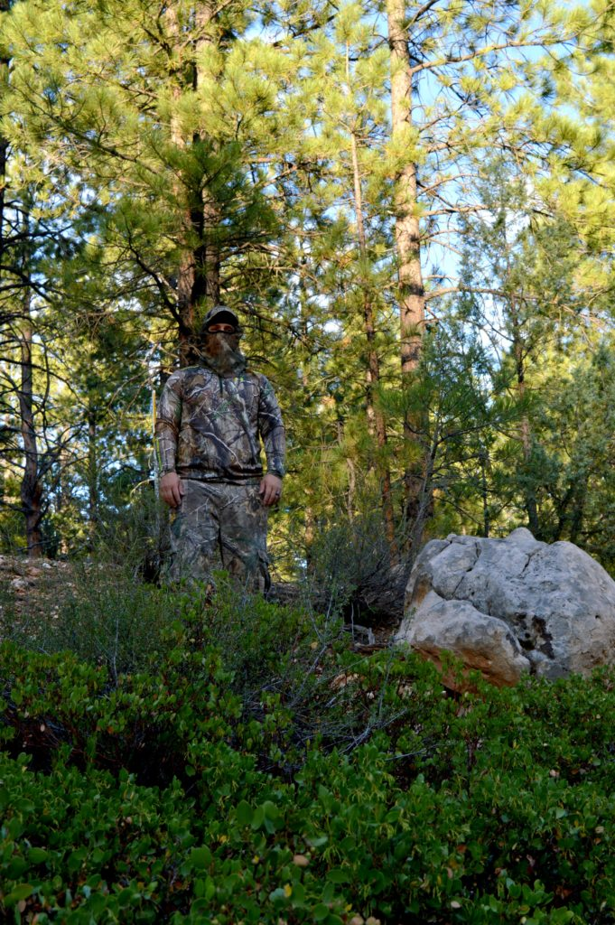 How to use hunting scent, get dressed.